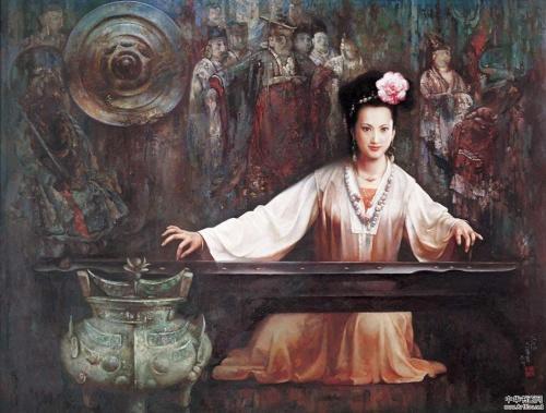 Работы китайского художника Zhang Renyuan (12 фото)