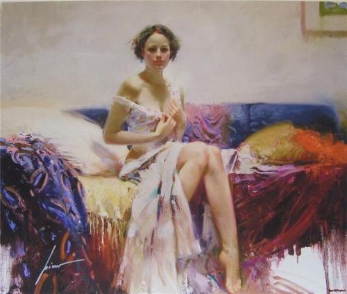 Работы художника Pino Giuseppe Dangelico (1939 - 2010) (43 фото)