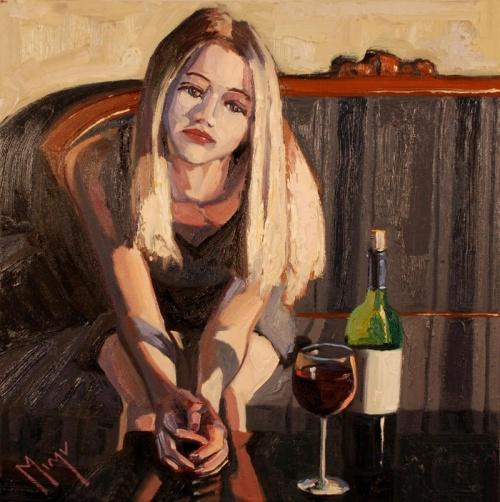 Художник виноделия Вирджинии. Christopher Mize (21 фото)