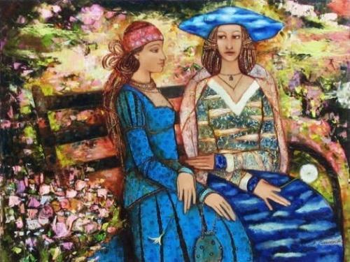 Работы художницы Сахалтуевой Анастасии (13 работ)
