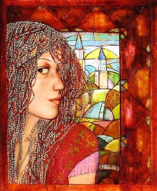 Работы художницы Сахалтуевой Анастасии (13 фото)