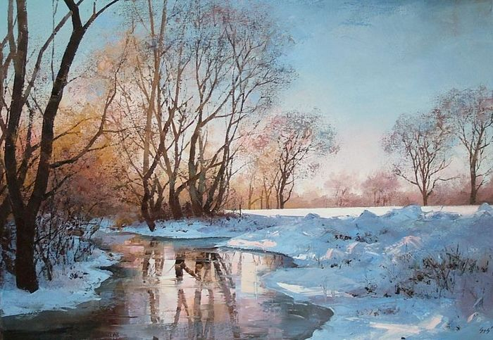 How To Become A Real Artist Painting Landscapes