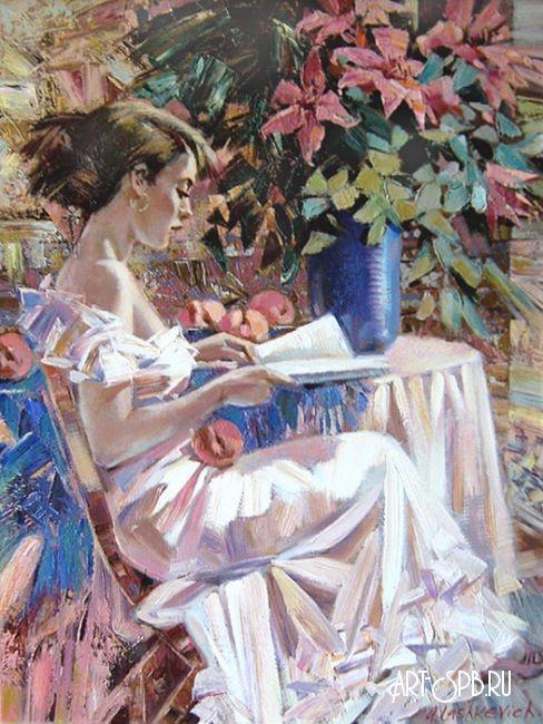 Работы художника Алексея Лашкевича (Женские образы) (25 фото)