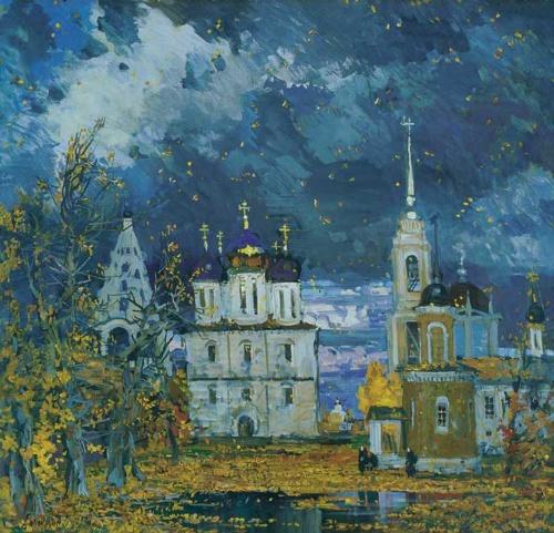 Живопись Михаила Абакумова (15 работ)