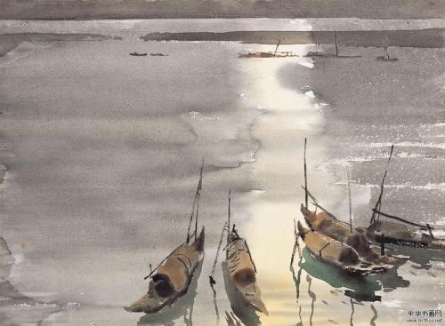 Пейзажи художника Lei Tan (Китай) (19 фото)