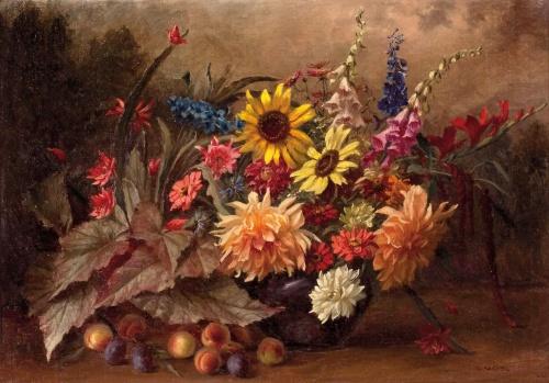 Натюрморты Camilla Gobl-Wahl (Austrian, 1871-1965) (24 работ)