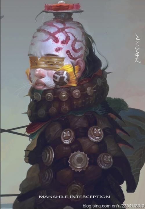 Художник Fenghua Zhong (71 фото)