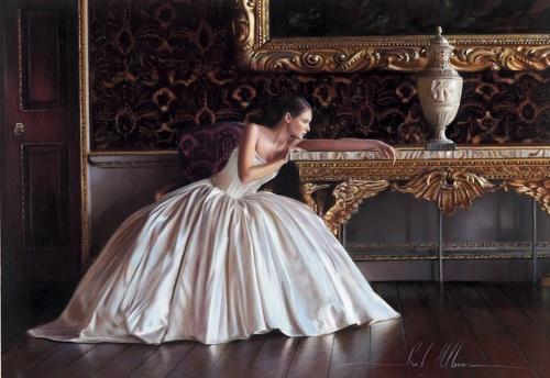 Невесты, гиперреалистические картины Роба Хефферана (19 работ)