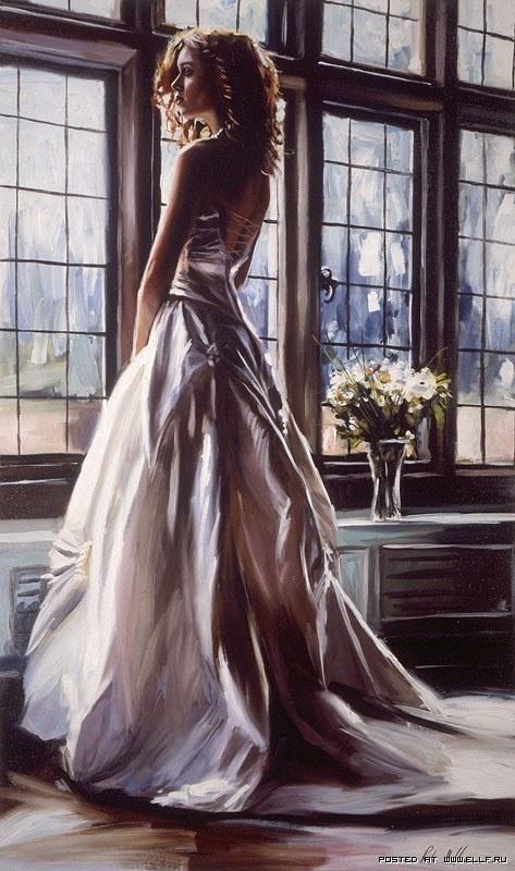 Невесты, гиперреалистические картины Роба Хефферана (19 фото)