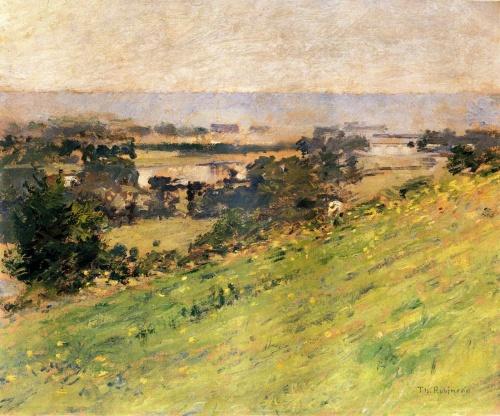 Американский импрессионист - Теодор Робинсон 1852-1896 (143 работ)