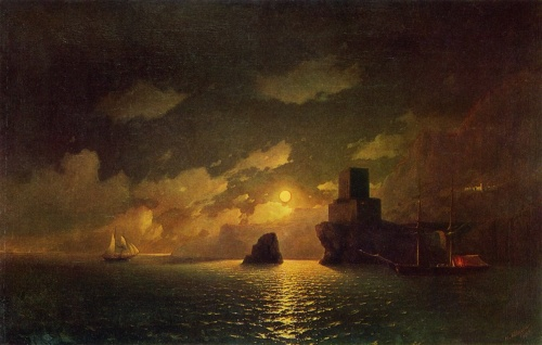 Мастера живописи: Айвазовский Иван Константинович (Ivan Aivazovsky), 1817–1900 г.г. (74 работ)