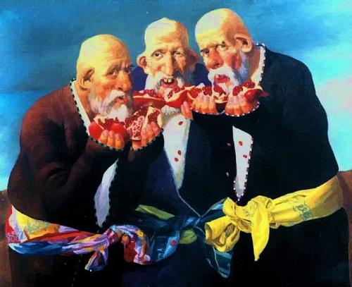 Работы художника Бахтияра Умарова (32 работ)