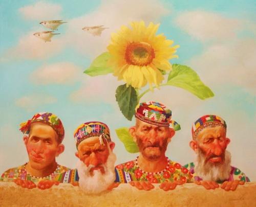 Работы художника Бахтияра Умарова (32 фото)
