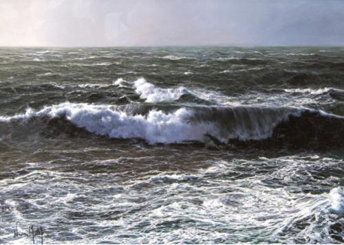 Испанский художник Alfredo Navarro. Море (28 фото)