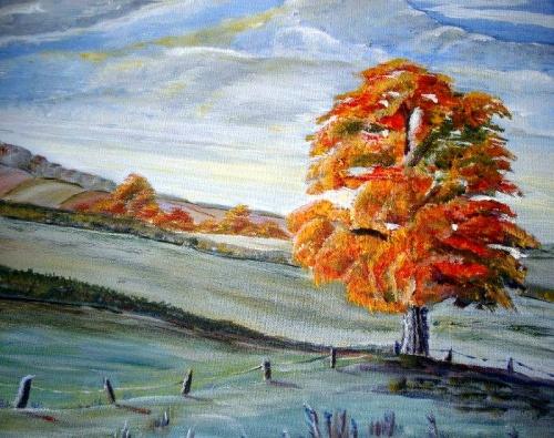Красивые пейзажи. Художница Heatherbell Barlow (21 фото)