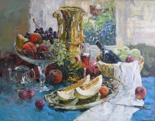 Натюрморты Евгения Малых (27 работ)