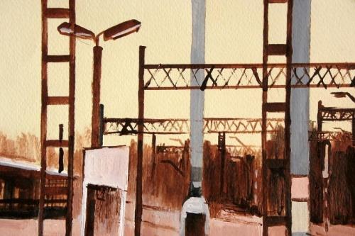 Железнодорожная живопись. Художница Marta Zamarska (21 работ)