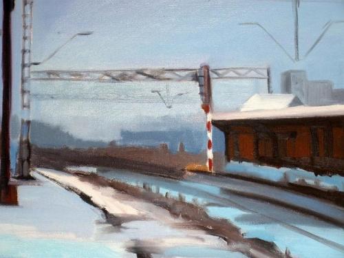 Железнодорожная живопись. Художница Marta Zamarska (21 фото)
