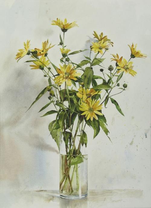 Болгарский живописец, акварелист Atanas Matsoureff (132 фото)