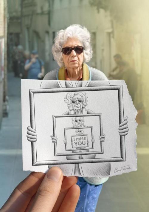 Карандаш против Камеры. Искусство Бена Хейна (57 фото)