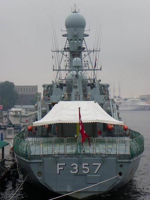 Датский патрульный фрегат типа Thetis (70 фото)