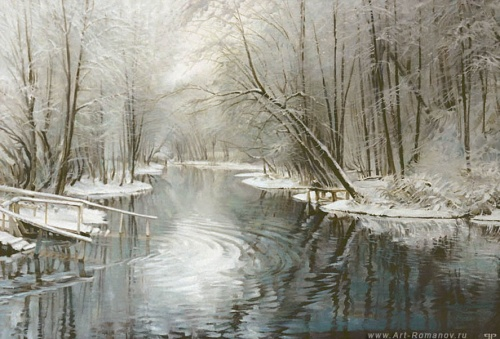 Красивейшие времена года художника Романова Романа (31 фото)