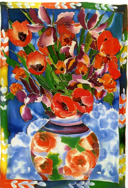 Подборка картин известных художников - Букеты цветов, натюрморт (51 работ)