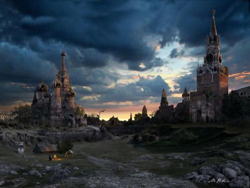 Картины от Йонаса Де Ро - Апокалипсис (30 работ)