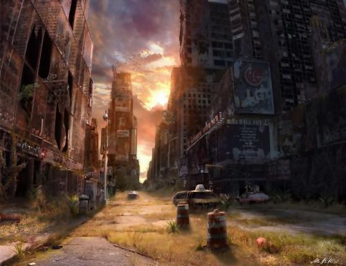 Картины от Йонаса Де Ро - Апокалипсис (30 фото)