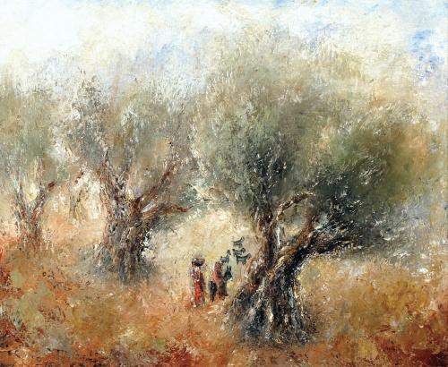 Artworks by Reuven Rubin (160 фото)