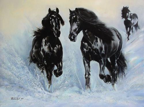 Яркие картины художника Анатолия Борисовича Соловцева (24 работ)