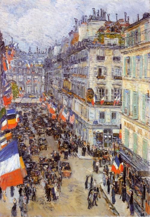 Американский художник - импрессионист Фредерик Чайльд Гассам 1859 - 1935 (448 работ)