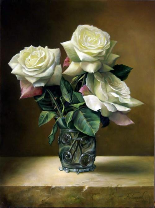 Красота цветов – Букеты - Художник Pieter Wagemans (38 работ)