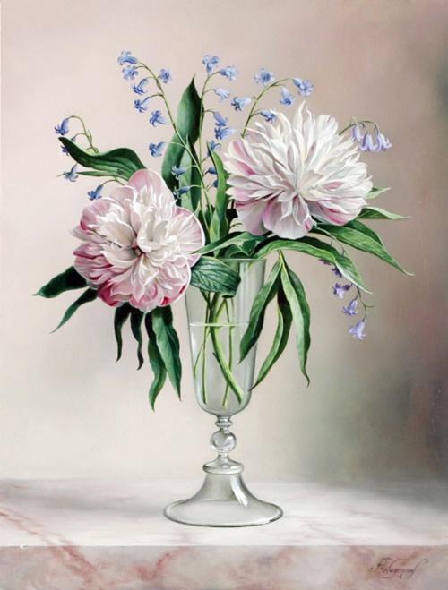 Красота цветов – Букеты - Художник Pieter Wagemans (38 фото)