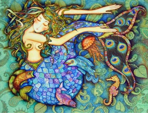 Мистические картины Холли Сьерра (20 фото)