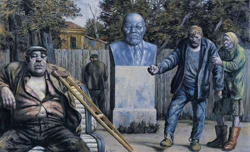 Жестокая социальная ирония о жизни в России - Василий Шульженко (47 фото)