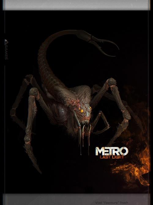Метро 2033: Луч надежды - Metro: Last Light (41 работ)