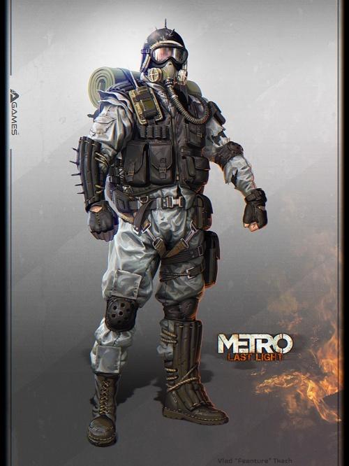 Метро 2033: Луч надежды - Metro: Last Light (41 фото)
