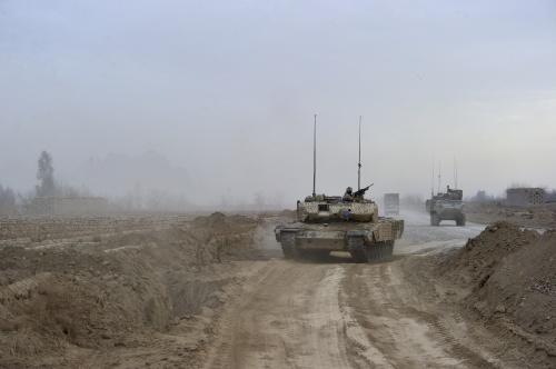 Канадские танки Леопард (13 фото)
