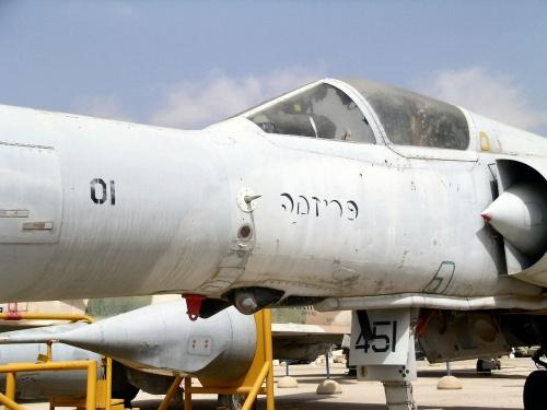 Фотобзор - израильский истребитель KFIR C-2 (49 фото)