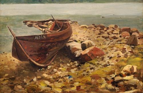 Норвежский художник Hans Dahl (1849-1937)