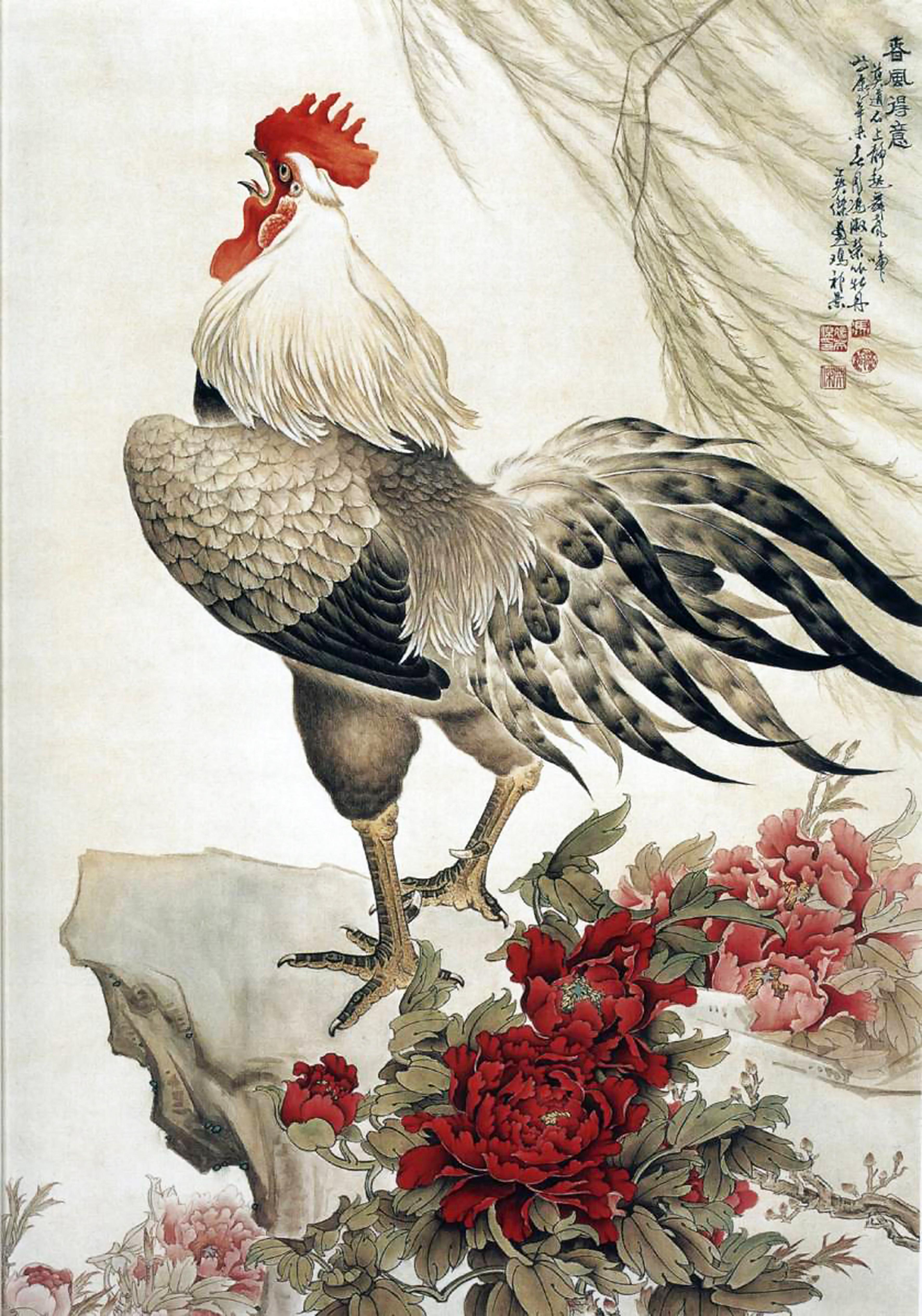 Картинки курица и петух с цыплятами