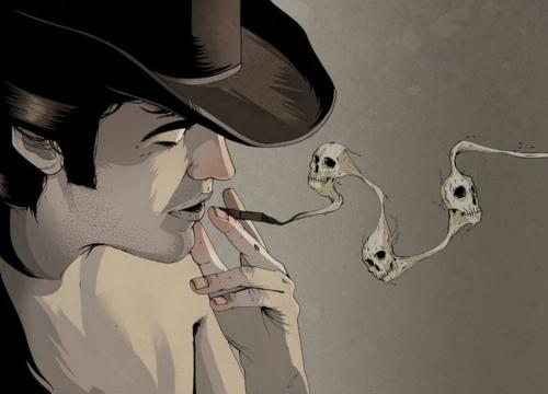 Иллюстратор Alexander Wells (97 фото)