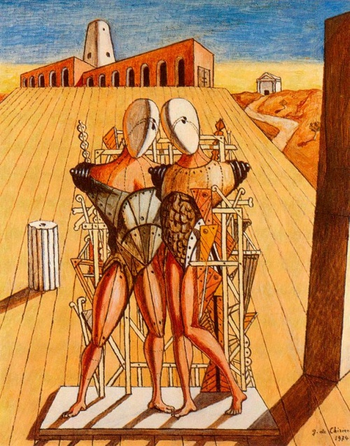 Работы итальянского художника Джорджо Де Кирико (227 фото)