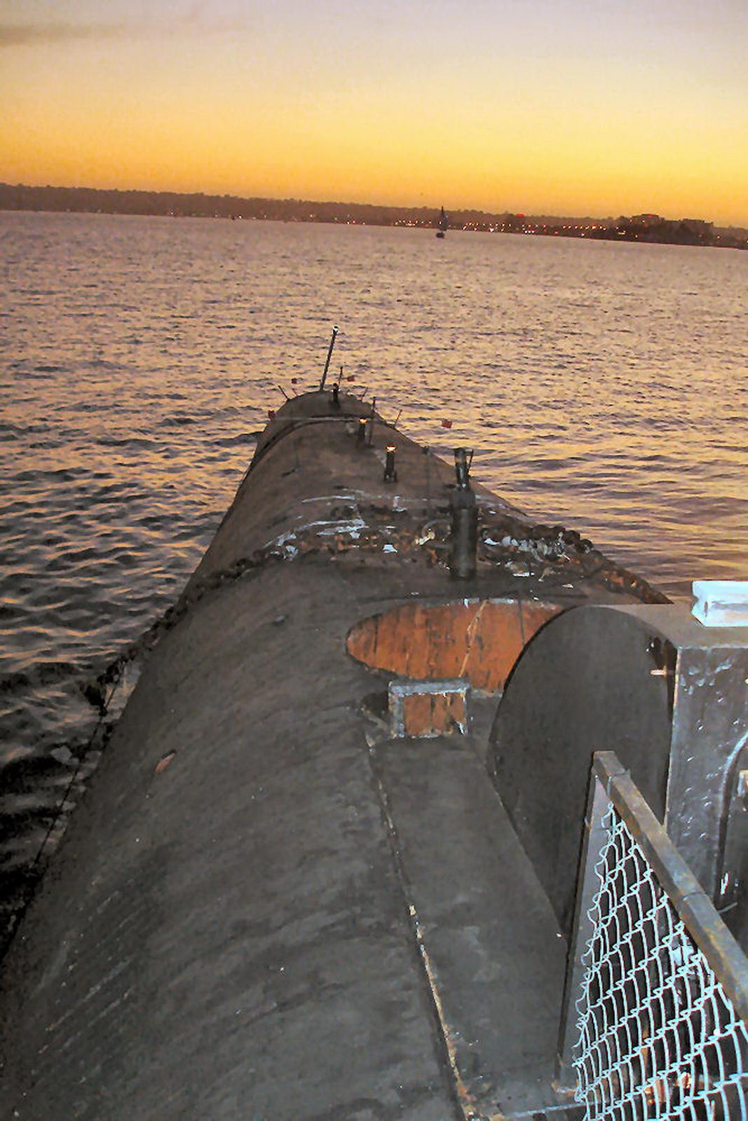 лодке класса фокстрот