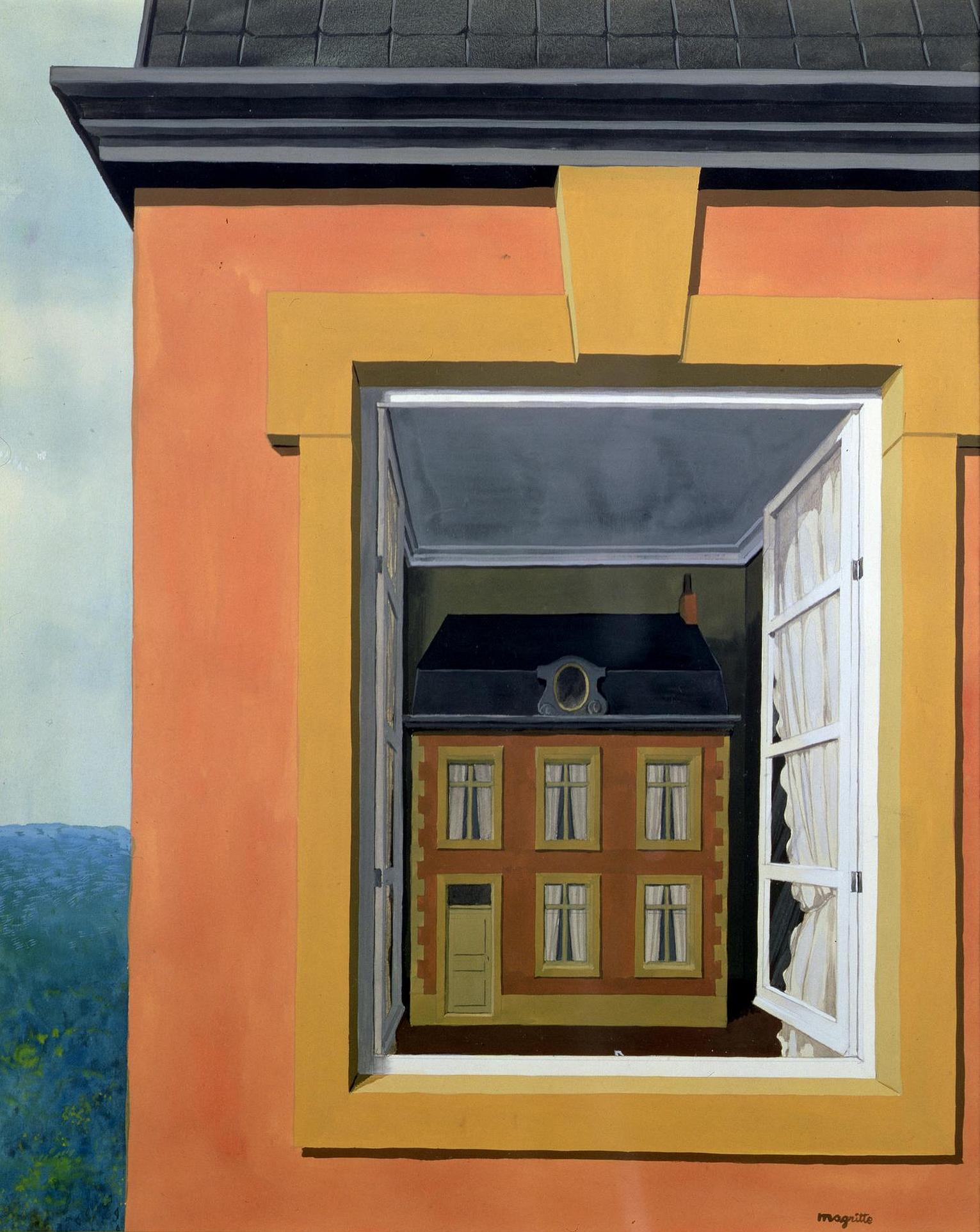magritte essay Smoke and mirrors: the surreal life and work of rené magritte  speeches, essays and tracts an artist who was perfectionist in his portrayal of objects, he kept denying the value of a.