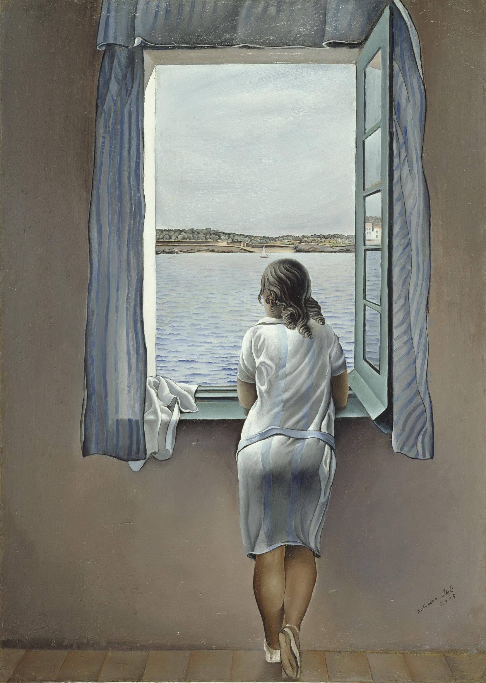 Фото девушки сидящей в окне спиной 6 фотография