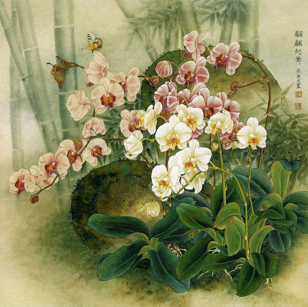 китайская живопись картины:
