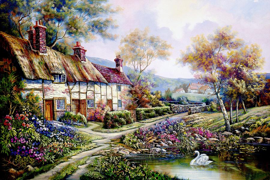 Carl Valente Original Oil Paintings