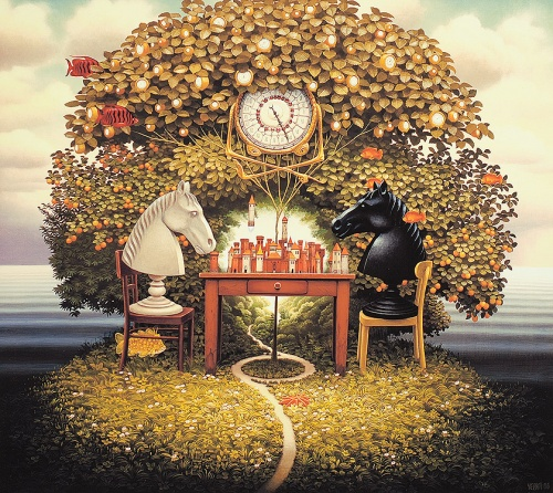 Jacek Yerka painter of the fantasy worlds (29 фото)